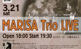 ライブ|MARISA Trio Live(ゴスペル)