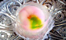 販売|夏の涼し気な和菓子「朝顔の花」
