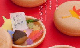 玉手箱のような和のお菓子「あきゆらら」