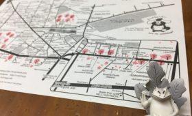 江古田のお散歩マップ 英語版 | Enjoy Ekoda Walking MAP English Ver.