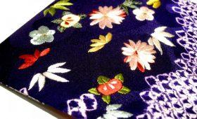 「着物と和紙で作るブックカバー」受注会
