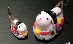 縁起物・のごみ人形の干支飾り 戌の土鈴