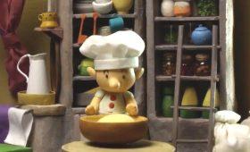 「パン屋のイーストン」クレイアニメ上映
