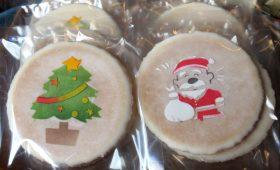 和菓子屋さんのクリスマスお菓子